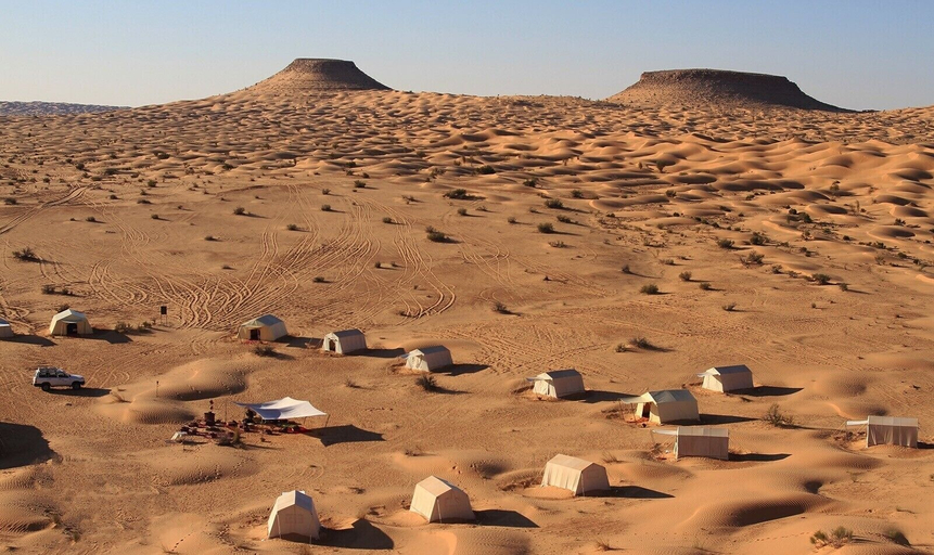 Saharansky Luxury Camp, Douz
