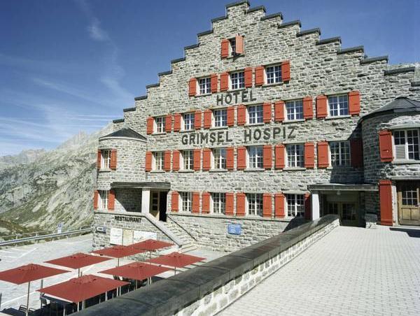 Historisches Alpinhotel Grimsel Hospiz, Oberhasli