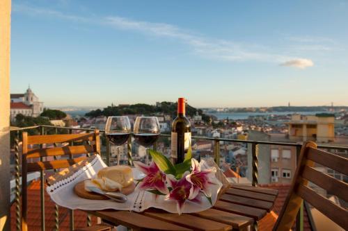 Graca - Castle | Lisbon Cheese & Wine Apartments, Lisboa