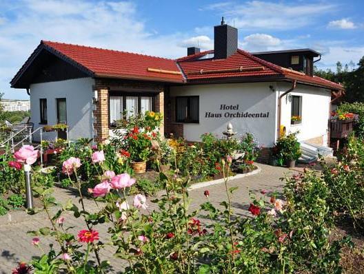 Hotel Haus Orchideental Jena, Jena