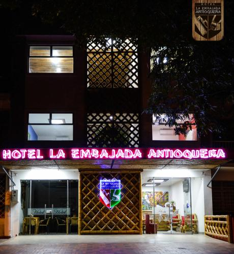 Hotel la Embajada Antioquena, San José de Cúcuta