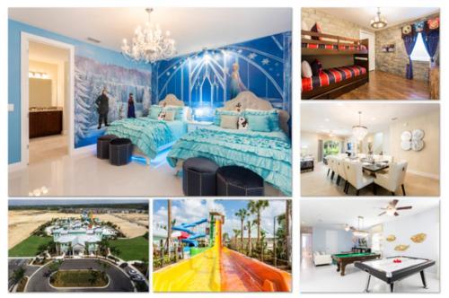 Luxury Villas in Encore Waterpark, Osceola