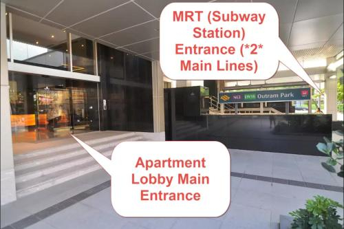 Two Bedroom in Chinatown above MRT, Singapore