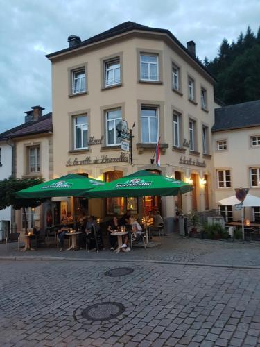 Cafe Hotel de ville de Bruxelles, Vianden