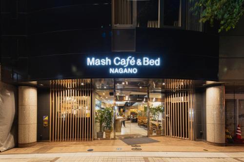 Mash Café & Bed NAGANO - Hostel, Nagano