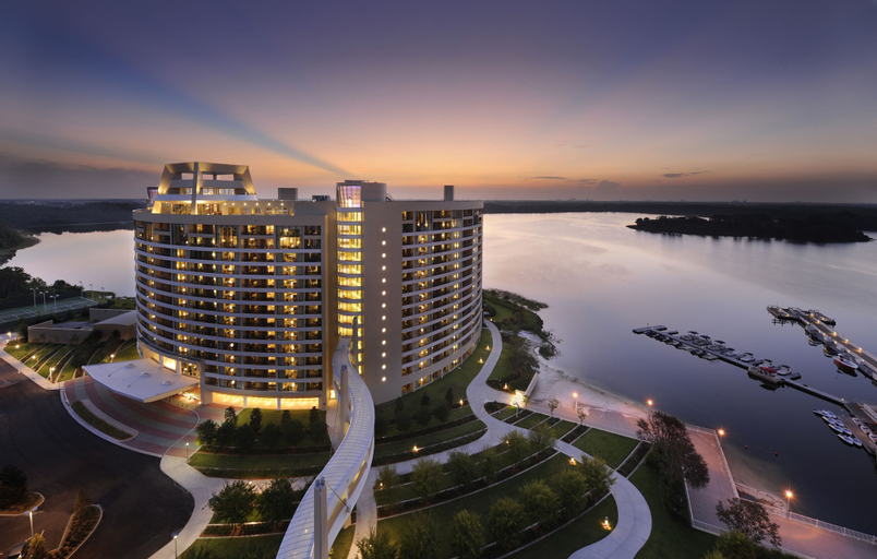 Bay Lake Tower at Disney's Contemporary Resort, Orange