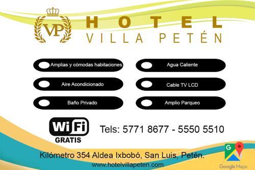 HOTEL VILLA PETEN, San Luis