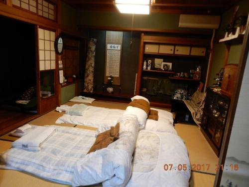 Traditional Japanese House with beatiful garden, Hirakata