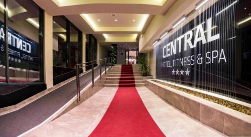 Central Hotel, Fitness and Spa,