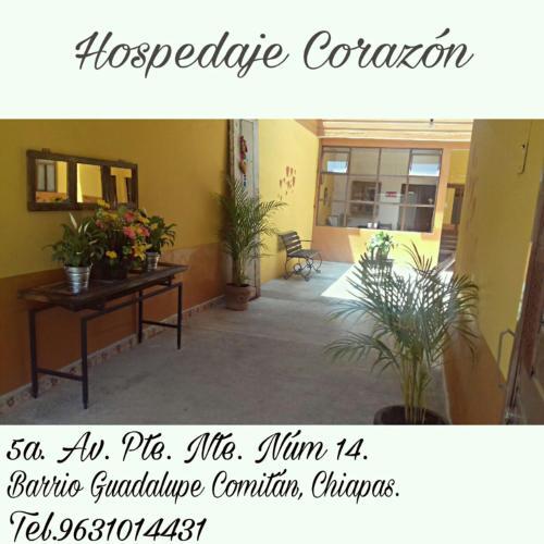 Hospedaje Corazon, Comitán de Domínguez