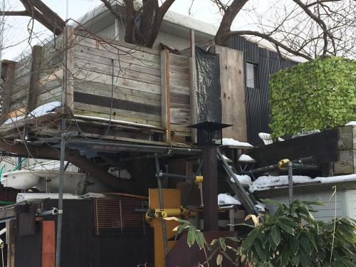 Tree House & Open Air Bath, Nanae