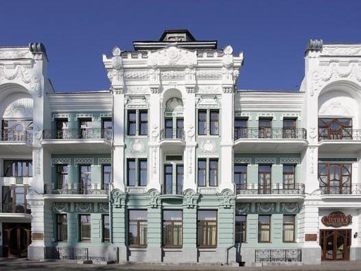 Hotel Zentralnaya, Troitskiy rayon