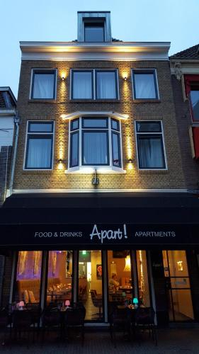 Apart! Food & Drinks Apartments, Zwolle