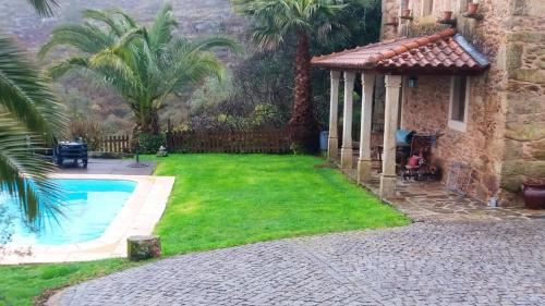 House with 2 bedrooms in Caminha with shared pool enclosed garden and WiFi 18 km from the beach, Caminha
