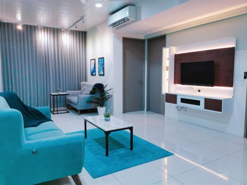 LuxuryNewCondo, Near KLCC, 5pax, 3r2b,豪华公寓,3房2厕, Kuala Lumpur