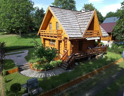 Sowia chatka, Lubań