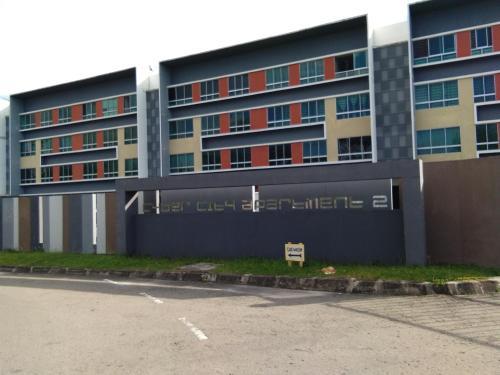 Cozy Budget Homestay @ Cyber City Apartment 2, Penampang