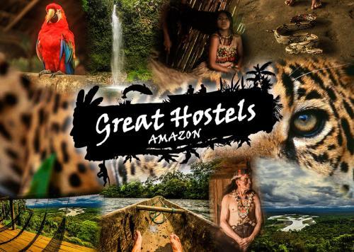 Great Hostels Amazon, Pastaza