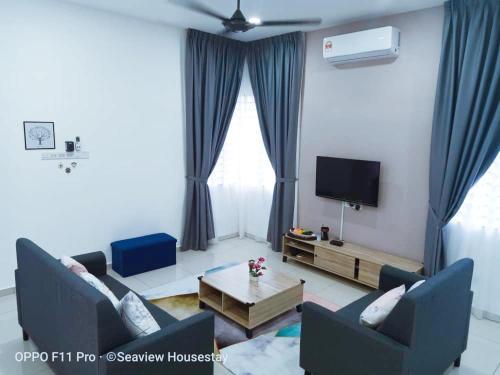 Sekinchan SemiD 4R3B 15PaxHomestay Wi-Fi, Sabak Bernam