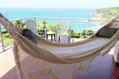 House with 4 bedrooms in Santo Isidoro with wonderful sea view enclosed garden and WiFi 1 km from th, Mafra