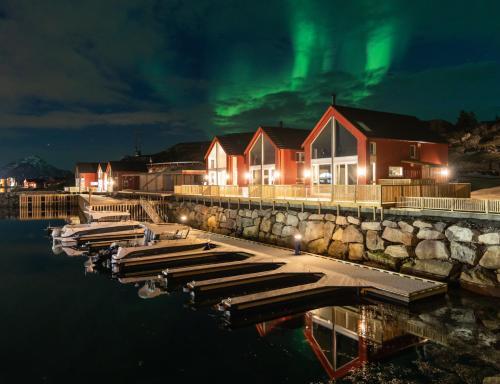 Moderne rorbu i Lofoten, Vestvågøy