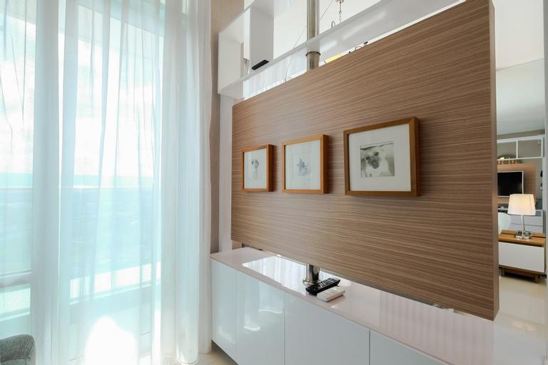 Brooklyn Alam Sutera Studio Apartment with Sofa Bed By Travelio, Tangerang Selatan