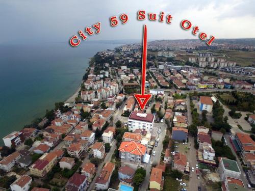 City59 Suit Otel, Merkez