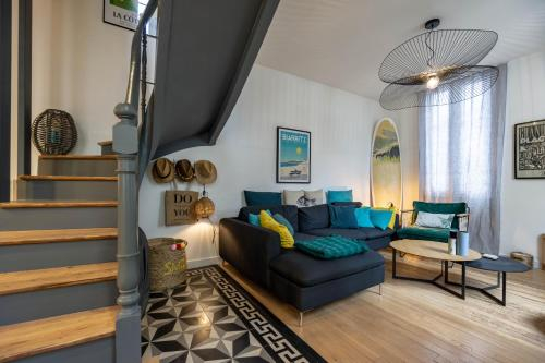 YOUCCA SURF SHACK very cosy and well decorated townhouse in Biarritz, Pyrénées-Atlantiques