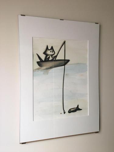 Casa do Gato que queria ser Pescador, Peniche