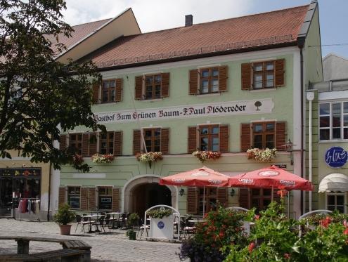 Hotel zum grunen Baum, Deggendorf