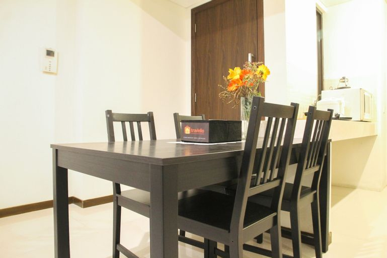 Luxurious 3BR at St. Moritz Apartment near Shopping Mall By Travelio, West Jakarta