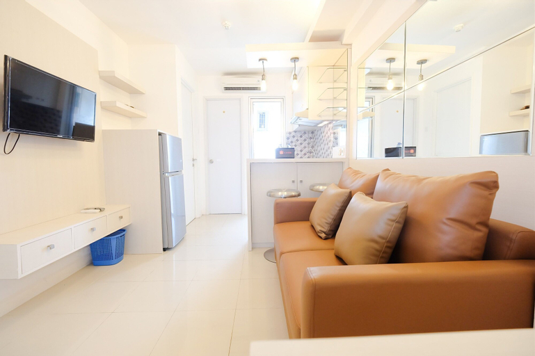Fully Furnished with Cozy Design Studio Bassura City Apartment By Travelio, East Jakarta