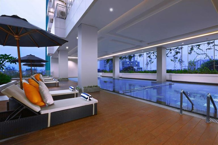 Comfortable and Modern Studio Apartment near Cawang and MT Haryono By Travelio, East Jakarta