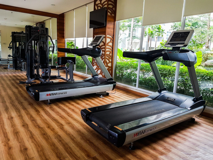 New Furnished 1BR Saveria Apartment near BSD City By Travelio, Tangerang Selatan