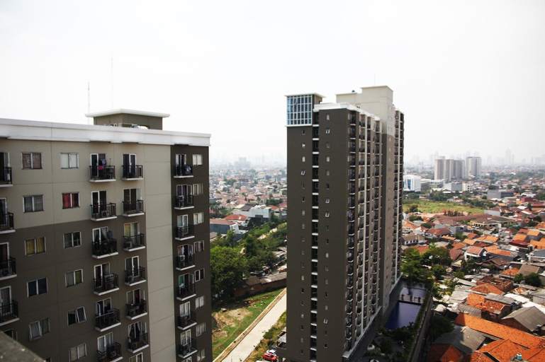 Spacious 1BR City View Puri Park View Apartment near Puri Indah Mall, West Jakarta