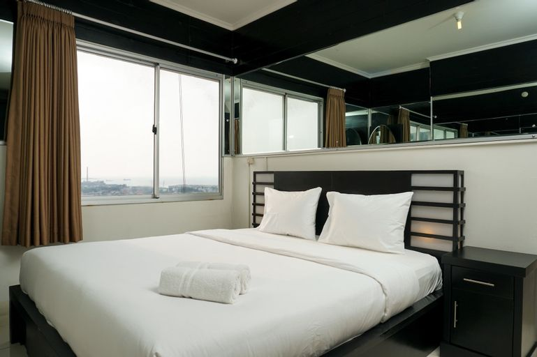 2BR Apartment Seaview with Workspace at Mediterania Marina Ancol, North Jakarta
