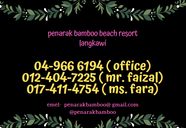 Penarak Bamboo Beach Motel, Langkawi