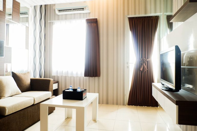 Cozy 2BR Apartment with City View at Pavilion Permata, Surabaya