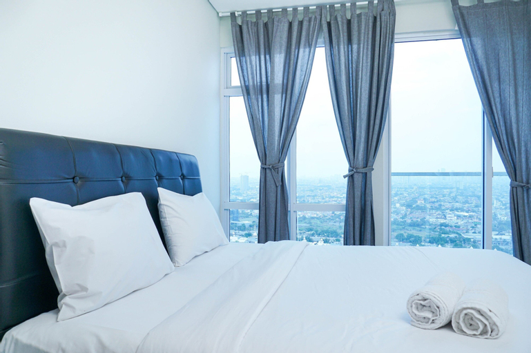 Simply Furnished Studio Apartment at Puri Mansion By Travelio, West Jakarta