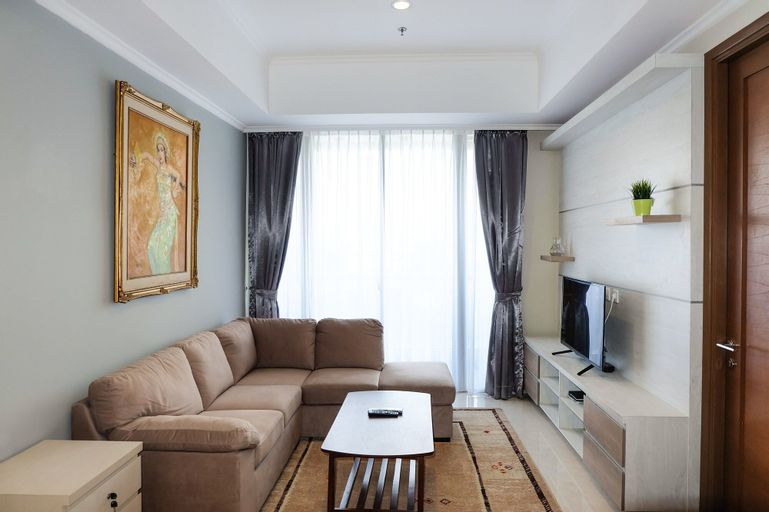 2BR Condo Apartment with Maid Room at Taman Anggrek Residences, West Jakarta