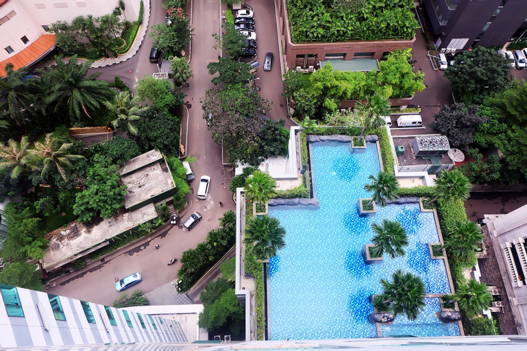 2 BR Central Location Sahid Sudirman Residence By Travelio, Central Jakarta