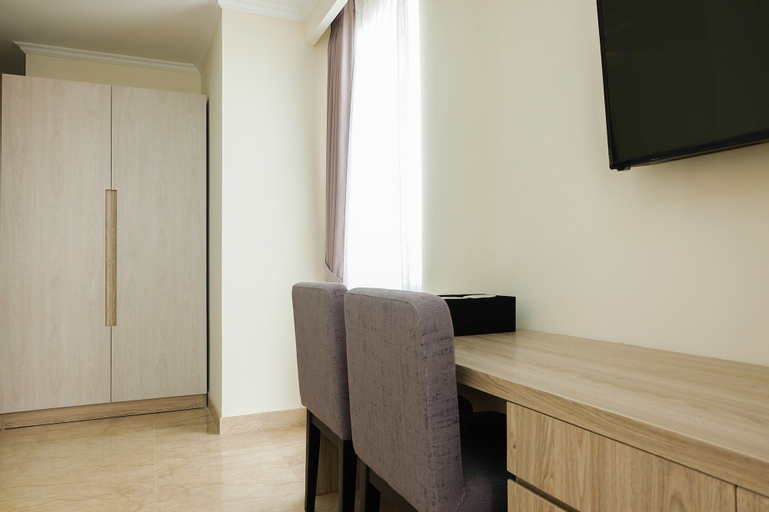 Highest Value Studio Room at Menteng Park Apartment By Travelio, Central Jakarta
