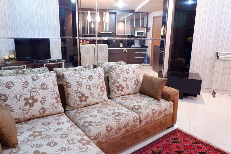 Strategic 2BR Apartment Sahid Sudirman Residences, Central Jakarta