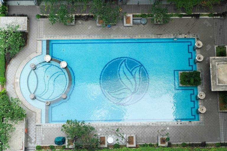 Simple 2BR Green Pramuka Apartment, Central Jakarta