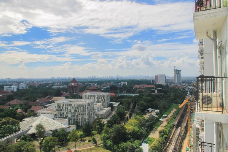 Best Location Studio Park View Condominium Apartment By Travelio, Depok