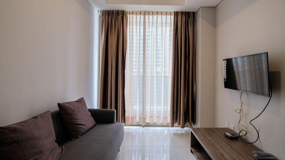 Cozy 1BR Apartment at Taman Anggrek Residence, West Jakarta