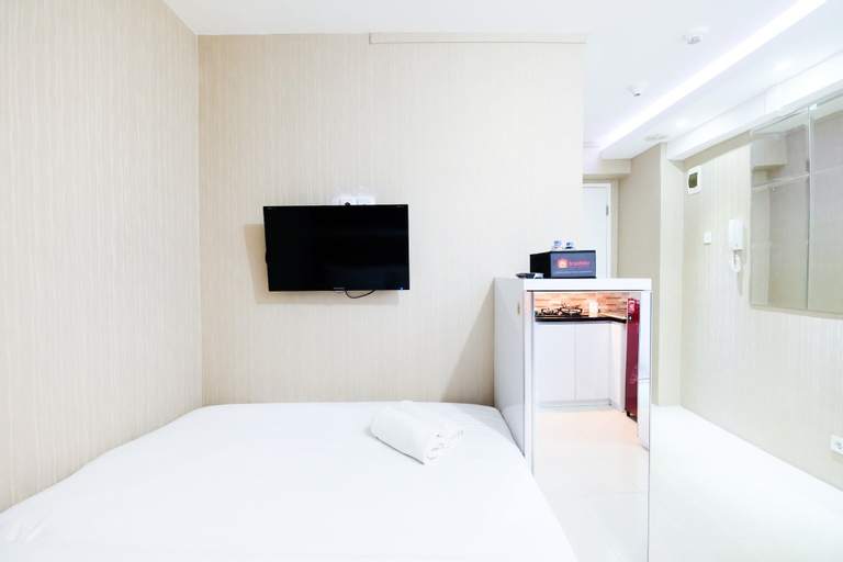 Homey and Cozy Studio Room at Bassura City Apartment By Travelio, East Jakarta