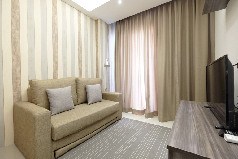 Modern and Elegant 2BR Apartment at Signature Park Grande, East Jakarta
