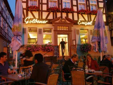 Goldener Engel Hotel - Restaurant, Bergstraße
