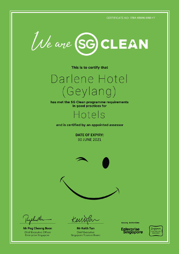 Darlene Hotel, Bedok